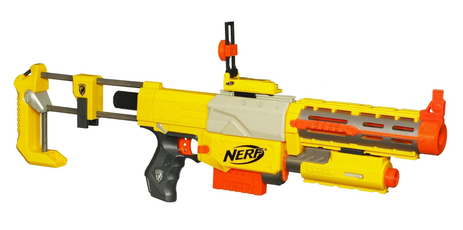 the new Nerf Modulus Recon Mk II blaster! This is actually a re-shell of  the old Nerf Recon / Nerf Retaliator blaster. It has many things in common  with ...