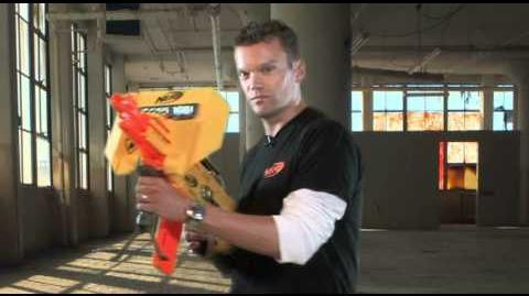 NERF Inside Blast N-Strike Stampede ECS blaster