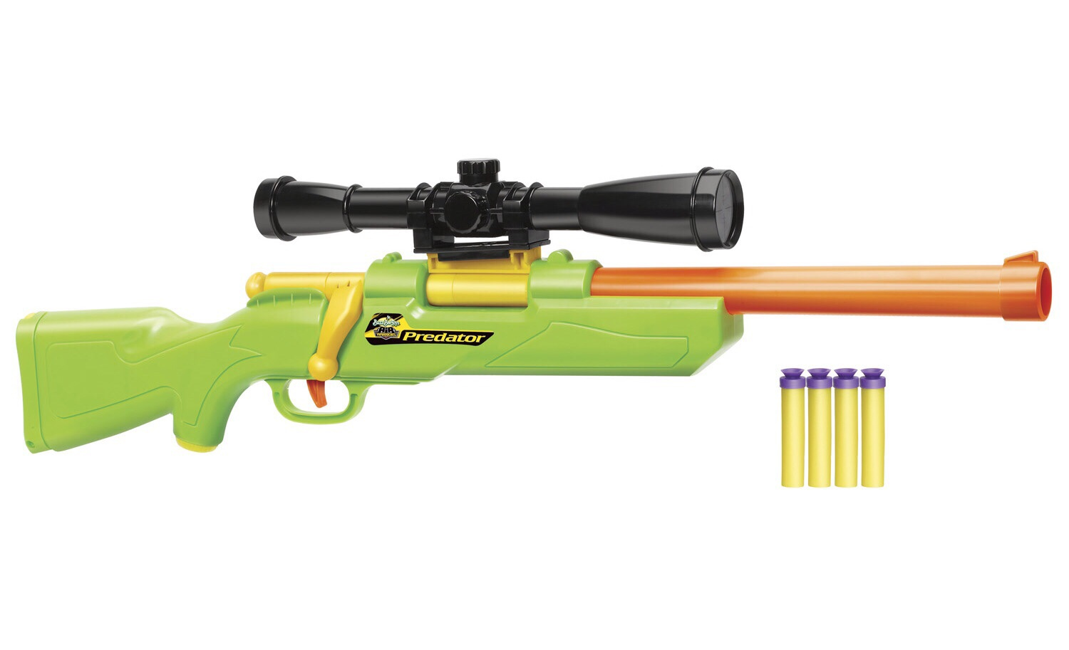 Modified Bolt Action Buzz Bee Hunter Nerf Gun Darts
