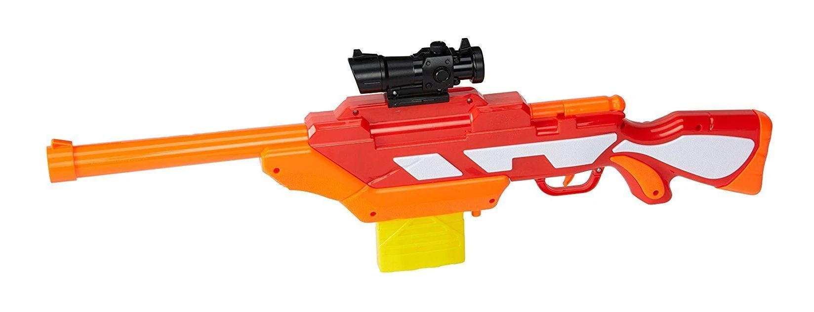 NEW Air Warriors Tactical Storm Clip Fed Foam Dart Rifle Blaster