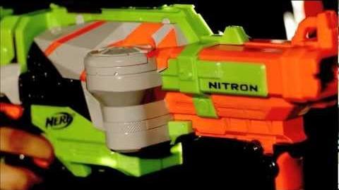 Рекламный ролик Nerf Vortex Nitron