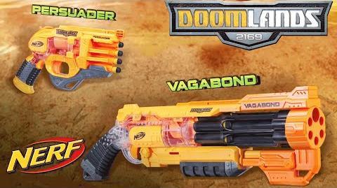 NERF – 'Doomlands 2169 Persuader & Vagabond' Official T.V