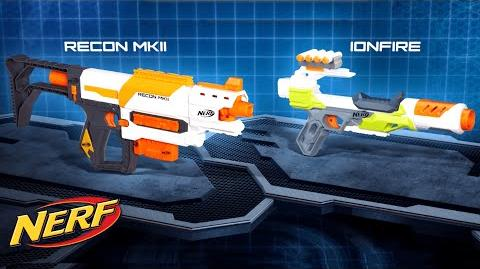 NERF - 'N-Strike Modulus Recon MKII & IonFire Blaster' Official T.V. Spot