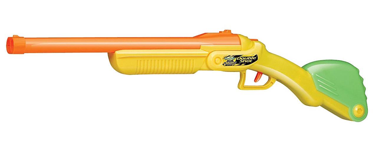 Image is loading Kids-Double-Barrel-Toy-Shot-Gun-Nerf-Soft-