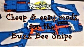 Free and easy mods for the Buzz Bee Snipe