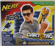 DartTagOnePlayerPackBlack
