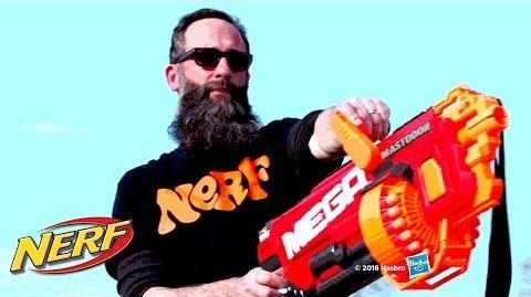 NERF - 'Mega Mastodon' Behind the Blaster