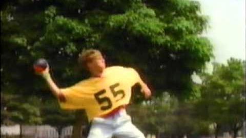 1991 Nerf Turbo Screamer Football commercial