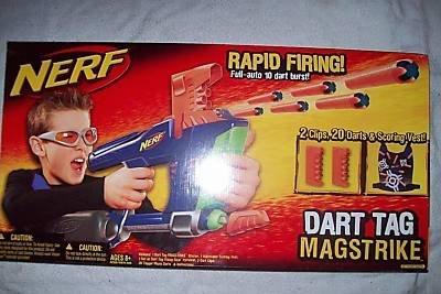 item 7 NERF N Strike Magstrike AS10 Rapid Fire Pump Dart Blaster Full Gun  w/ Clip -NERF N Strike Magstrike AS10 Rapid Fire Pump Dart Blaster Full Gun  w/ ...