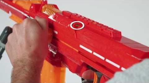 Hasbro - Mega Javelin - Nerf N-Strike Elite - Centurion Blaster