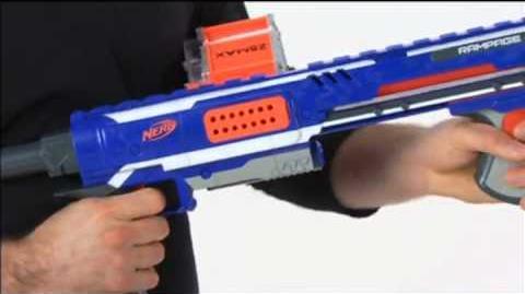 NERF N-Strike Elite RAMPAGE - commercial presentation
