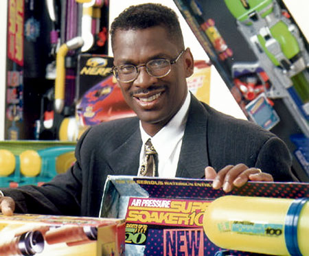 Lonnie Johnson is the inventor of the Super Soaker line as well as several  Nerf products in the 1990's.