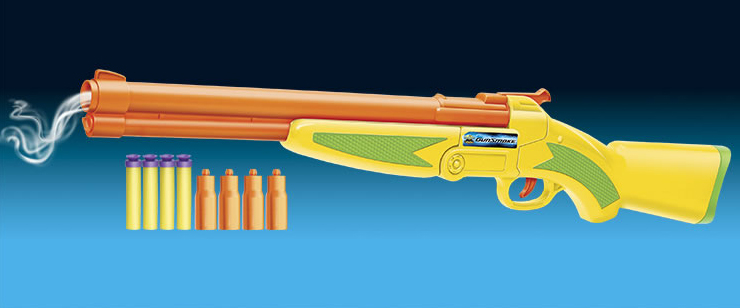 Bälle Buzz Bee Toys Air Warriors Gunsmoke Blaster