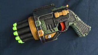 Nerf Lawbringer Pistol Modification Minimized Nerf Lawbringer