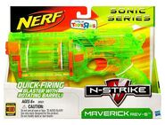 Nerf Sonic Series N-Strike Maverick - Box Art