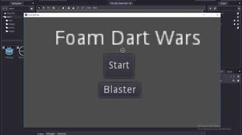 Foam Dart Wars Game - A Very Early BETA