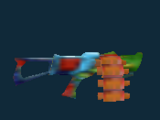 List of fictional Nerf Arena Blast blasters