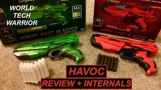 World Tech Warrior Havoc - Review Internals