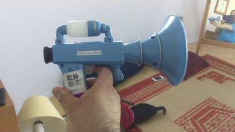 A different kind of blaster...