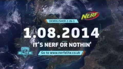 NERF DEMOLISHER 2-IN-1 COMING SOON