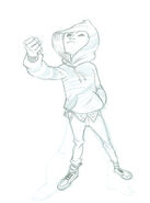 Komodo sketch 1