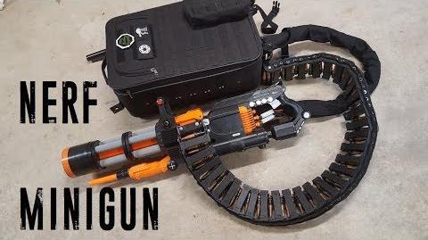 Nerf Rival Minigun (20 rounds sec, 2000 round capacity)