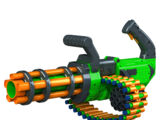 V-Twin Motorized Gatling Belt Dart Blaster