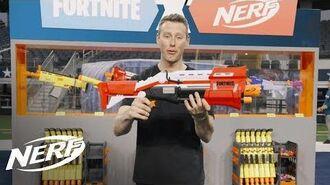 NERF - Fortnite TS Blaster Review w @AaronEsser