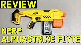 "Nerf Alphastrike Flyte CS-10 ""Minute"" Review"