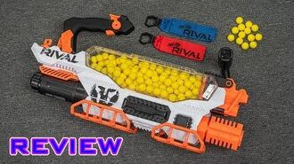 REVIEW Nerf Rival Prometheus NEMESIS ON STEROIDS!!!