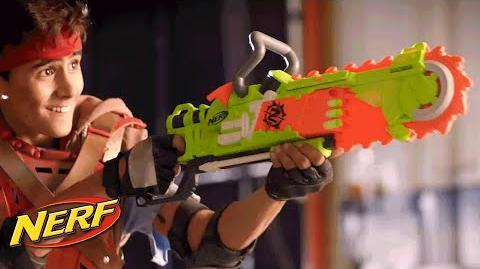 NERF - 'Zombie Strike Brainsaw' Official T.V