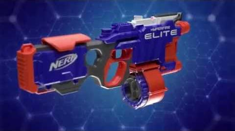"NERF Deutschland - TV-Spot ""N Strike Elite Hyperfire"""