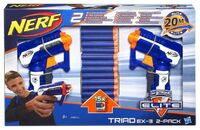 N-Strike Elite Triad EX-3 2-Pack