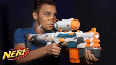 NERF - 'Modulus Tri-Strike Blaster' Official T.V. Spot