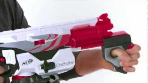 Nerf Vortex Pyragon Demo Video