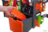 Clip blaster rack