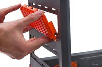 Assemble blaster rack