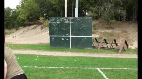 Nerf Inside Blast Nerf Curve Pitch Baseball Set