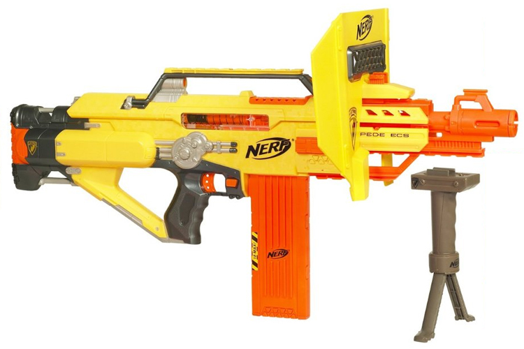 As a kid, I strapped a Nerf gun to my bicycle so I could dive bomb the  neighborhood kids, while traveling—I imagined—at five times the speed of  sound.