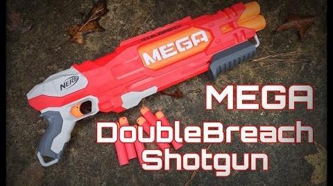 Honest Review Nerf MEGA DoubleBreach (Over Under Shotgun Unboxing Review)