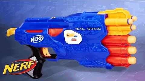 NERF - 'N-Strike Elite Dual-Strike Blaster' Official T.V