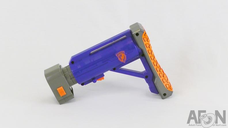 Nerf Elite Modulus Gun Shoulder Stock Upgrade Mod Attachment Ammo Extra  Pistol