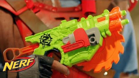 NERF Latino América - 'Lanzador Zombie Strike Crosscut!' Comercial de TV