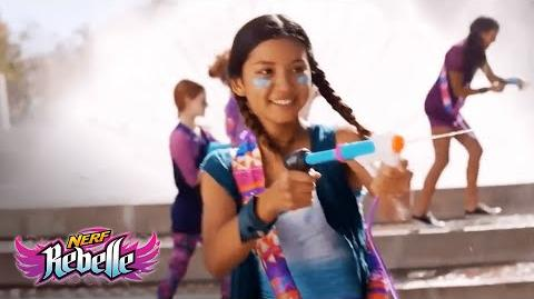 NERF Rebelle Australia Super Soaker Wave Warrior