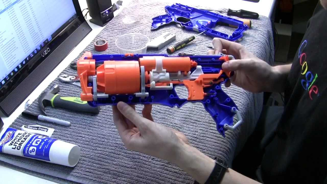 'M-5 Strongarm' Nerf Strongarm optical mod by firehawkcrafts ' ...