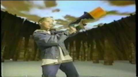 Nerf Ballzooka Kenner Toy Gun TV Commercial