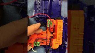 RapidStrike pusher with motor brake