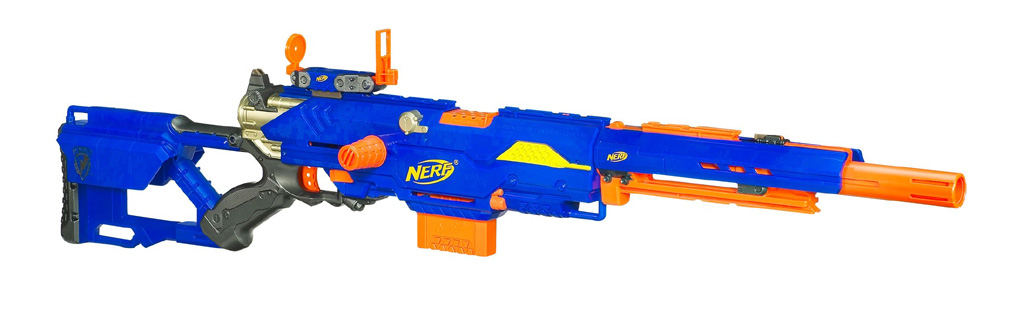 Nerf Gun n-strike elite alpha trooper cs-6 mission kit, nerf blaster toy  package, christmas gift! (Baby & Kids) in San Jose, CA