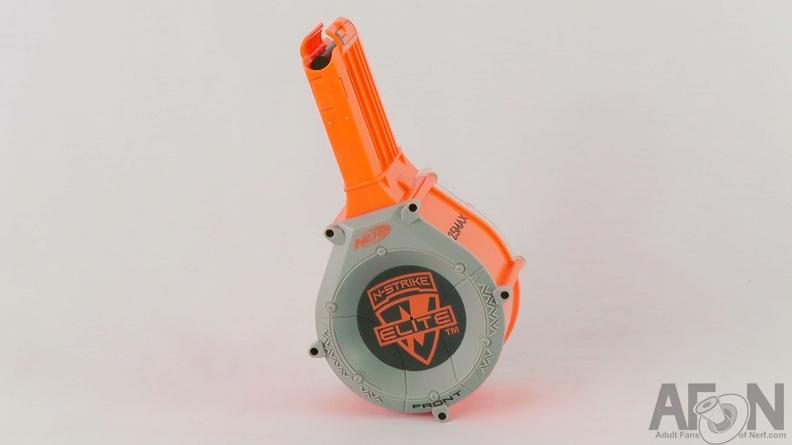 Nerf Raider Cs 35 With Round Drum Magazine Stock And 15 Darts