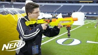 NERF FIRST NERF RIVAL Jupiter Blaster Review w @Nerfers101 - Walmart Exclusive